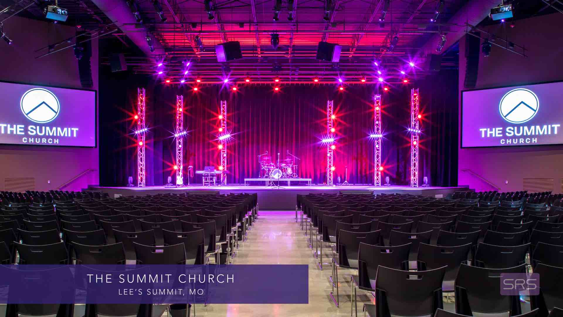 THE SUMMIT CHURCH | Audio Video Lighting Acoustics | Church AVLA